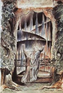 William Blake, Dante's Gates of Hell (1826)-8x6