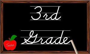 Third Grade Blackboard