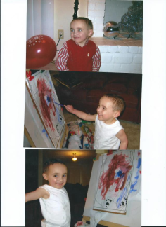 Julian.My Little Artiste.Age 4.Pearland.TX