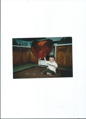 Julian.Valentines Day.2 years old.14926 Sandy Creek Drive.Houston.TX.77070.Heatherwood our home